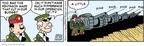 Cartoonist Brian Walker Greg Walker Mort Walker  Beetle Bailey 2009-01-10 base