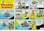 Cartoonist Brian Walker Greg Walker Mort Walker  Beetle Bailey 2009-02-15 mud