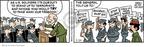 Cartoonist Brian Walker Greg Walker Mort Walker  Beetle Bailey 2009-02-24 terrorist