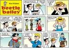 Cartoonist Brian Walker Greg Walker Mort Walker  Beetle Bailey 2009-03-01 style
