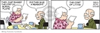Cartoonist Brian Walker Greg Walker Mort Walker  Beetle Bailey 2009-04-18 Martha