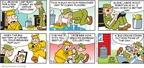 Cartoonist Brian Walker Greg Walker Mort Walker  Beetle Bailey 2009-09-13 fashion