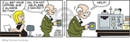 Cartoonist Brian Walker Greg Walker Mort Walker  Beetle Bailey 2009-09-23 coffee