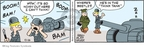 Cartoonist Brian Walker Greg Walker Mort Walker  Beetle Bailey 2009-10-26 drill