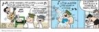 Cartoonist Brian Walker Greg Walker Mort Walker  Beetle Bailey 2009-12-04 shower