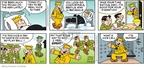 Cartoonist Brian Walker Greg Walker Mort Walker  Beetle Bailey 2010-02-07 men health