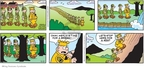 Cartoonist Brian Walker Greg Walker Mort Walker  Beetle Bailey 2010-02-21 outdoor recreation
