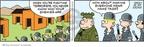 Cartoonist Brian Walker Greg Walker Mort Walker  Beetle Bailey 2010-04-06 terrorist