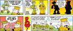 Cartoonist Brian Walker Greg Walker Mort Walker  Beetle Bailey 2013-09-08 insult