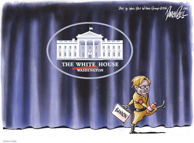 The White House. Washington. Bannon.