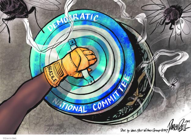 Democratic National Committee. Brazile.