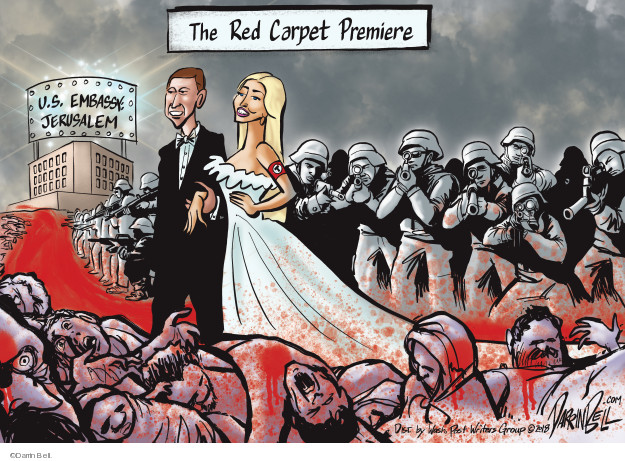 The Red Carpet Premiere. U.S. Embassy. Jerusalem.