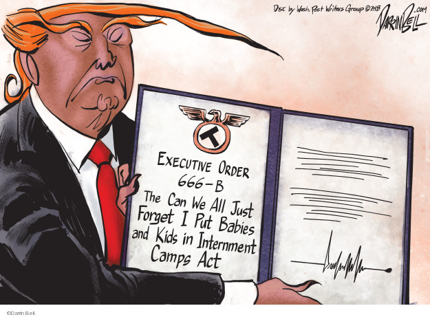 Executive order 666-B. The Can We All Just Forget I Put Babies and Kids in Internment Camps Act.