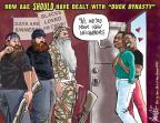 Cartoonist Darrin Bell  Darrin Bell Editorial Cartoons 2013-12-20 deal