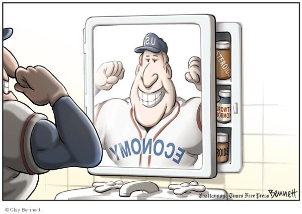 Cartoonist Clay Bennett  Clay Bennett's Editorial Cartoons 2008-01-16 political scandal