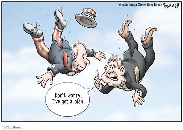 Cartoonist Clay Bennett  Clay Bennett's Editorial Cartoons 2008-01-24 uncle