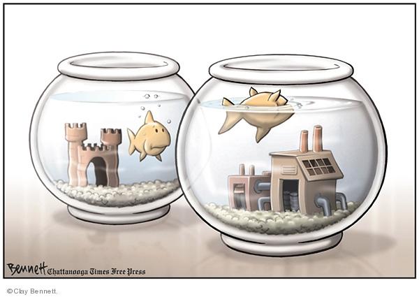 Clay Bennett  Clay Bennett's Editorial Cartoons 2008-01-27 bowl