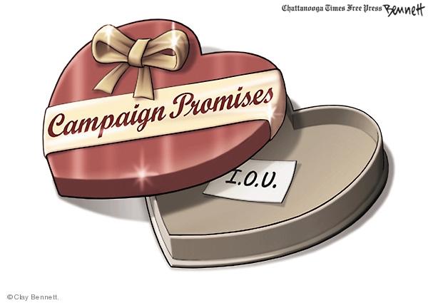Clay Bennett  Clay Bennett's Editorial Cartoons 2008-02-14 Valentine's Day
