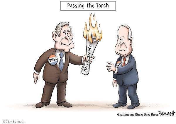 Cartoonist Clay Bennett  Clay Bennett's Editorial Cartoons 2008-03-08 Bill of Rights