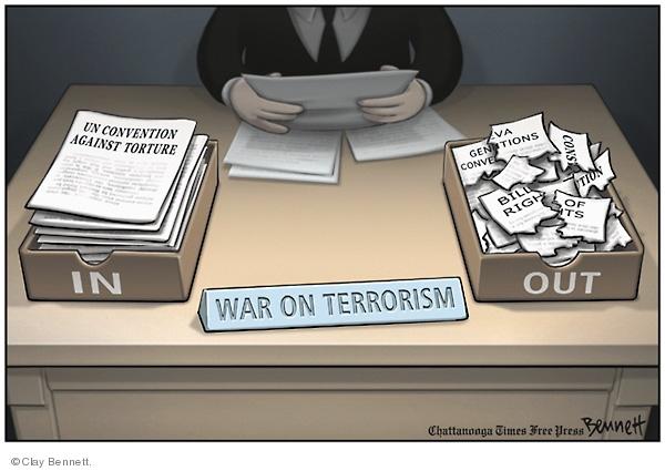 Cartoonist Clay Bennett  Clay Bennett's Editorial Cartoons 2008-03-19 Bill of Rights