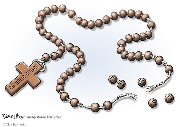 Cartoonist Clay Bennett  Clay Bennett's Editorial Cartoons 2008-04-20 political scandal
