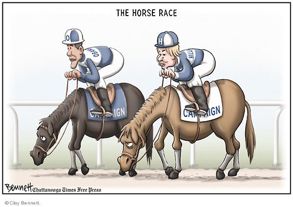 Clay Bennett  Clay Bennett's Editorial Cartoons 2008-05-03 horse