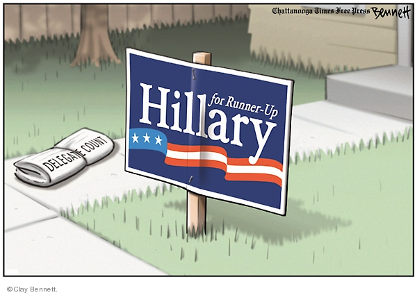 Clay Bennett  Clay Bennett's Editorial Cartoons 2008-05-15 loss