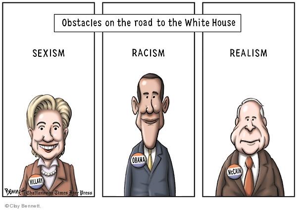 Clay Bennett  Clay Bennett's Editorial Cartoons 2008-05-24 road