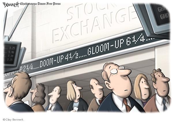 Clay Bennett  Clay Bennett's Editorial Cartoons 2008-06-07 stock market