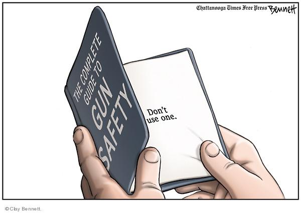 Cartoonist Clay Bennett  Clay Bennett's Editorial Cartoons 2008-07-06 second amendment