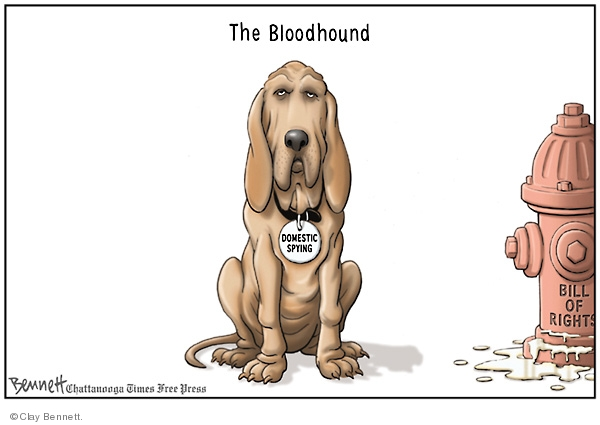Clay Bennett  Clay Bennett's Editorial Cartoons 2008-07-12 spy