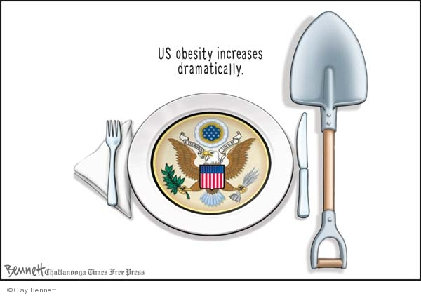 Clay Bennett  Clay Bennett's Editorial Cartoons 2008-07-22 diet