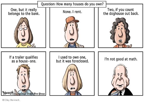 Clay Bennett  Clay Bennett's Editorial Cartoons 2008-08-23 number