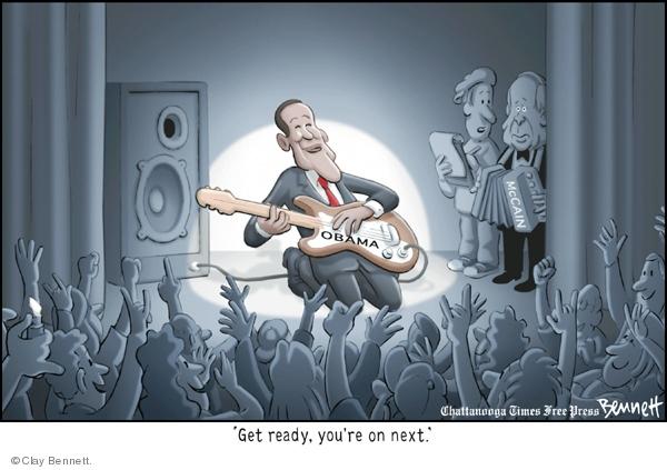 Clay Bennett  Clay Bennett's Editorial Cartoons 2008-08-30 2008 political convention