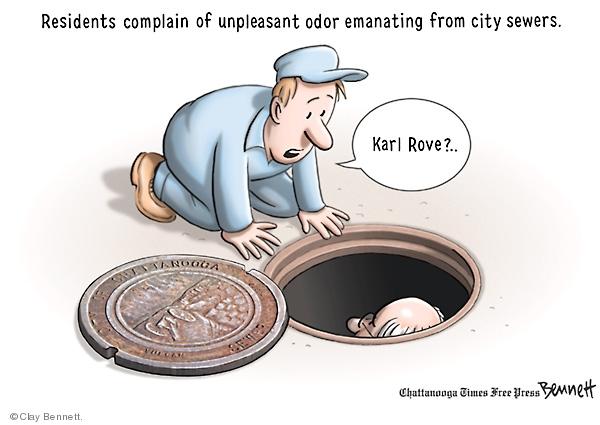 Cartoonist Clay Bennett  Clay Bennett's Editorial Cartoons 2008-09-11 city