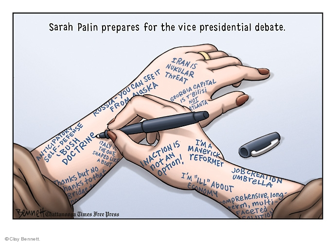 Clay Bennett  Clay Bennett's Editorial Cartoons 2008-10-01 Iranian election