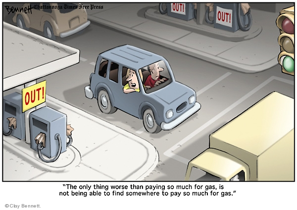 Clay Bennett  Clay Bennett's Editorial Cartoons 2008-10-04 expense