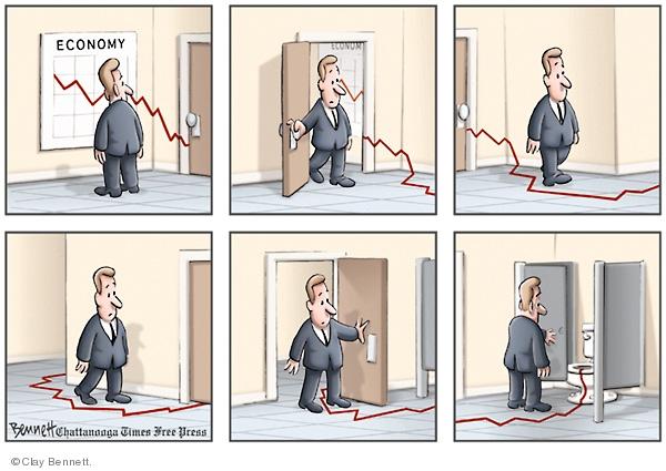 Clay Bennett  Clay Bennett's Editorial Cartoons 2008-10-10 loss