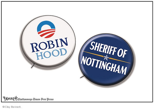 Cartoonist Clay Bennett  Clay Bennett's Editorial Cartoons 2008-10-21 button