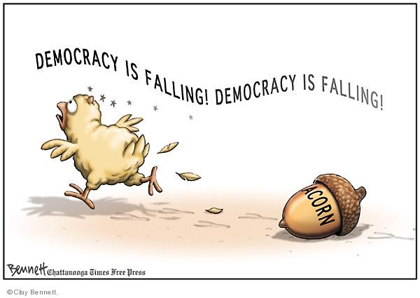 Clay Bennett  Clay Bennett's Editorial Cartoons 2008-10-18 voter fraud