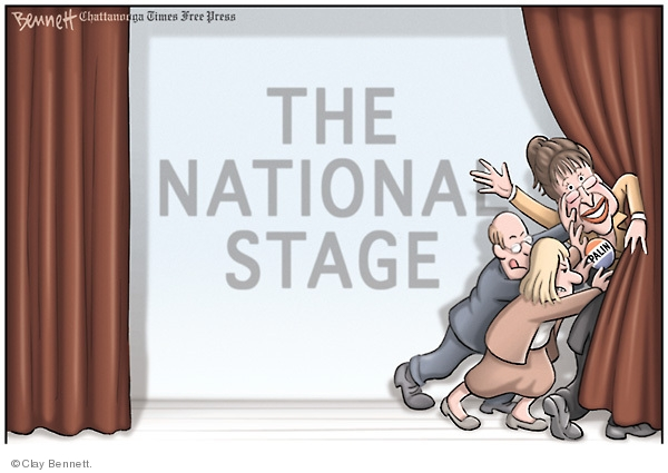 Clay Bennett  Clay Bennett's Editorial Cartoons 2008-11-13 2008 election