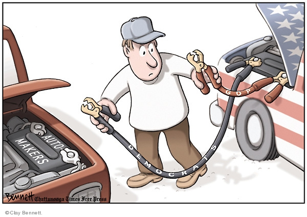 Clay Bennett  Clay Bennett's Editorial Cartoons 2008-11-20 vehicle