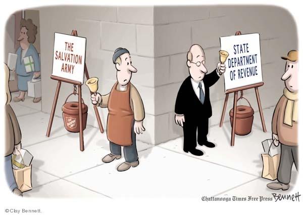 Cartoonist Clay Bennett  Clay Bennett's Editorial Cartoons 2008-12-09 state