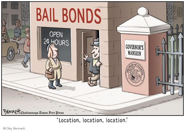 Cartoonist Clay Bennett  Clay Bennett's Editorial Cartoons 2008-12-11 charge