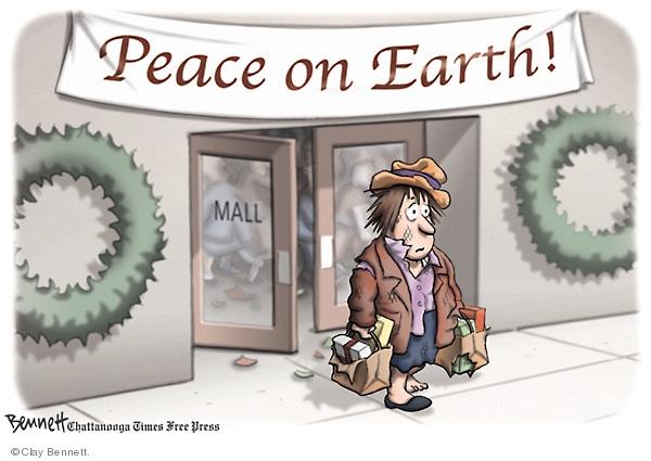 Clay Bennett  Clay Bennett's Editorial Cartoons 2008-12-16 tear