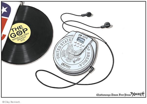 Cartoonist Clay Bennett  Clay Bennett's Editorial Cartoons 2009-05-02 state