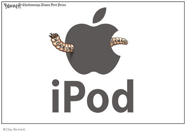 Cartoonist Clay Bennett  Clay Bennett's Editorial Cartoons 2009-05-20 apple