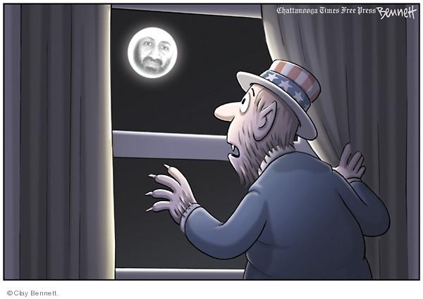 Cartoonist Clay Bennett  Clay Bennett's Editorial Cartoons 2009-05-24 face