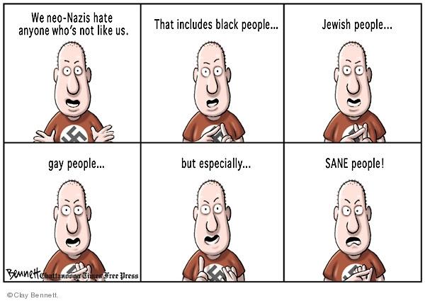 Cartoonist Clay Bennett  Clay Bennett's Editorial Cartoons 2009-06-11 ethnicity