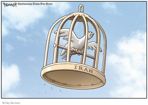 Clay Bennett  Clay Bennett's Editorial Cartoons 2009-06-19 mideast
